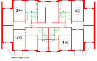 Перепланировка трехкомнатной квартиры серии П-3