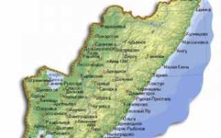 Кадастровая карта Приморского края