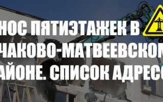 Стартовые площадки Очаково-Матвеевское