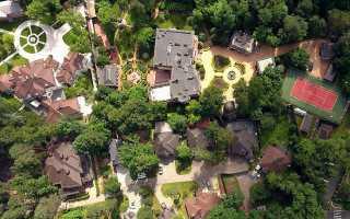 Самый дорогой дом на Рублевке сдали в аренду за 4,2 млн. руб. в месяц!