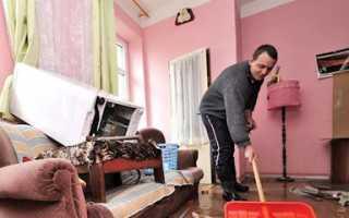 Оценка ущерба квартиры после затопления