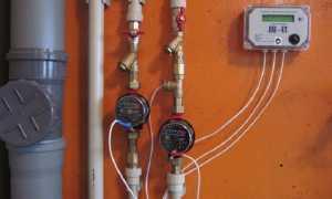 Счетчик для горячей воды с термодатчиком для квартиры