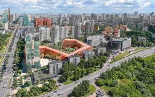 Проект реновации Проспекта Вернадского будет закончен в 2020 году