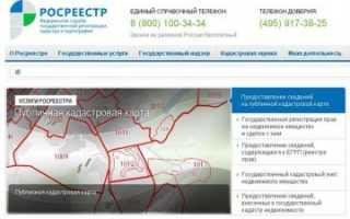 Карта Магадана: Росреестр